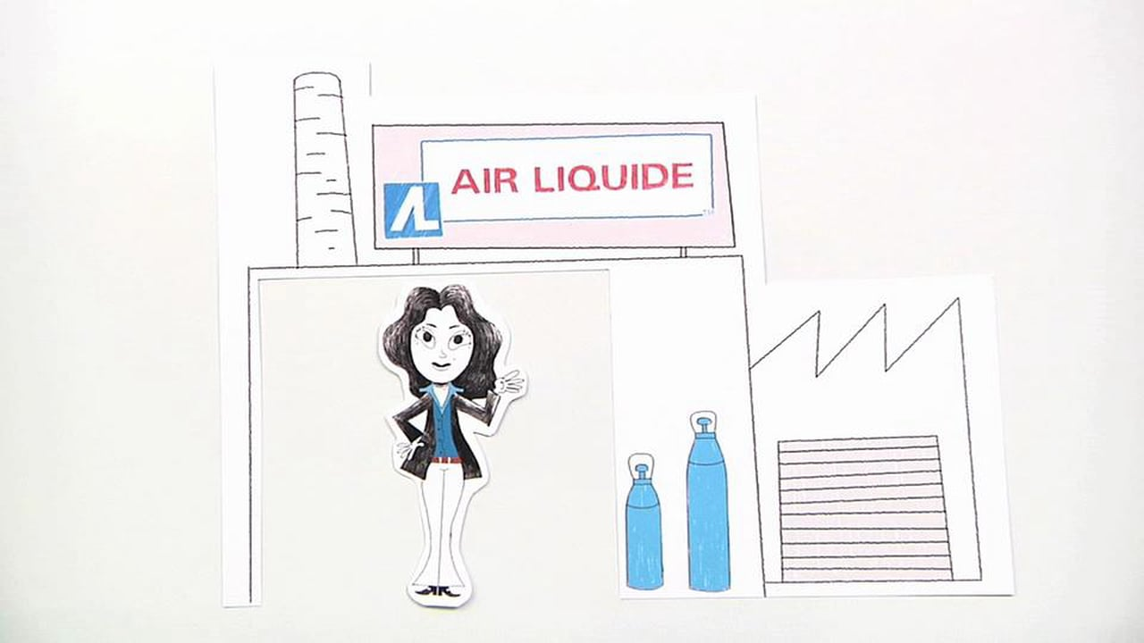 Air Liquide - vidéos tutorielles humoristiques