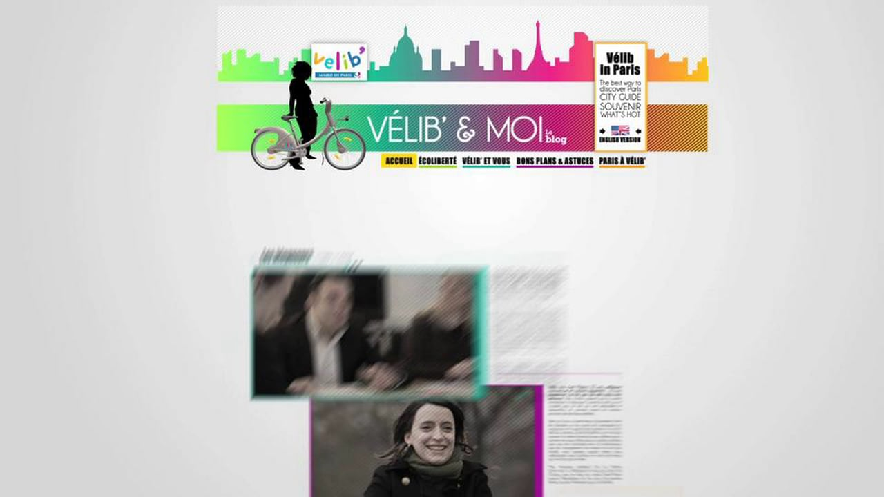 Video motion design blog.velib.paris.fr