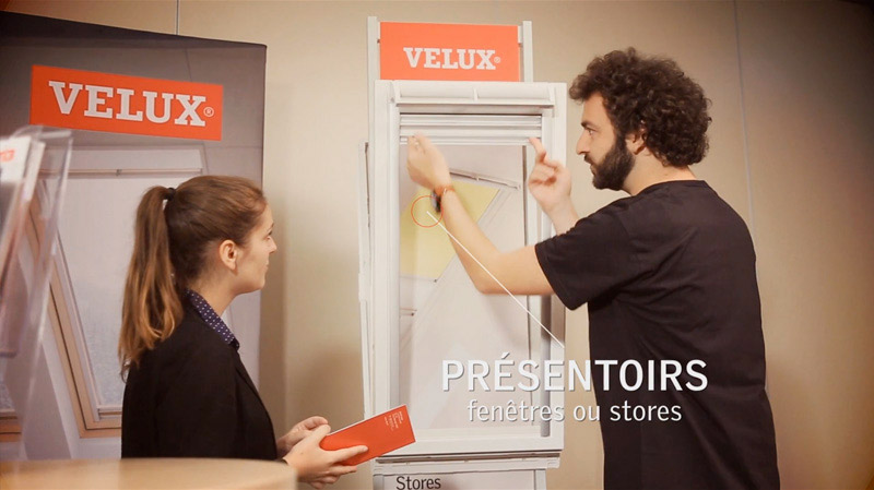 film spot corporate outils Velux
